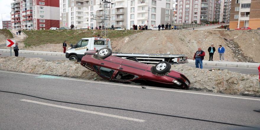 Yozgat'ta Trafik Kazası 5 Yaralı