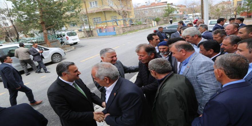 Develi'de Seçim Sonrasında İlk Muhtarlar Toplantısı Yapıldı