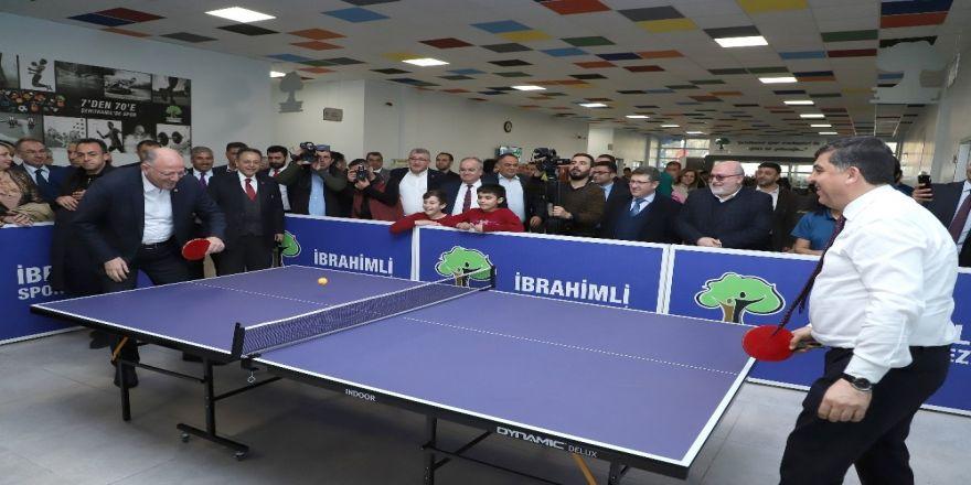 İbrahimli Spor Merkezi Türk Sporuna Katkı Sağlıyor
