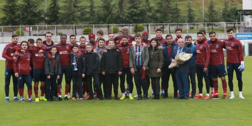 Trabzonspor, Evkur Yeni Malatyaspor maçı hazırlıklarını sürdürdü