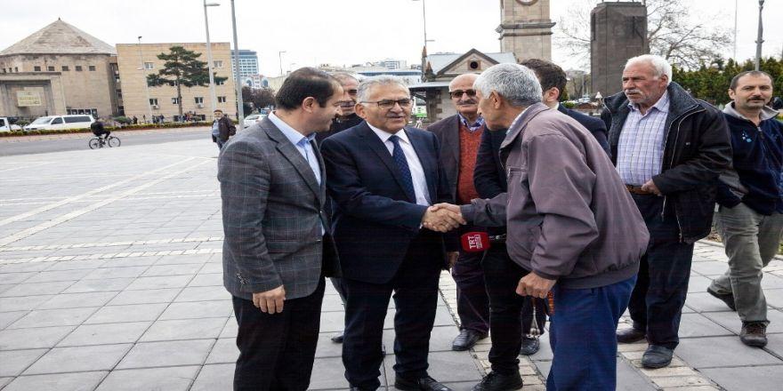 Başkan Büyükkılıç Yeraltı Çarşısı'nı Ziyaret Etti