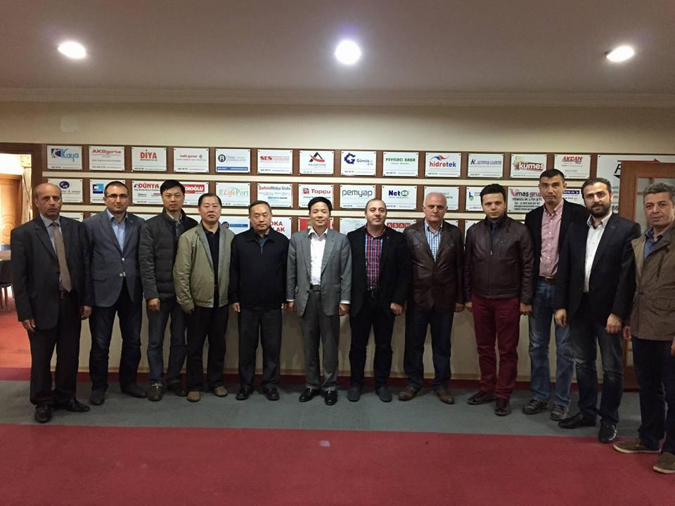 Çin'den TÜKSİAD'a davet