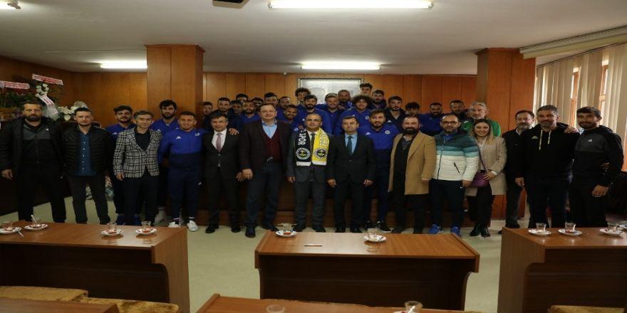 Kibar, Fatsa Belediyespor'u ağırladı