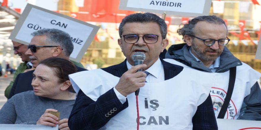 Aydın Tabip Odası, öldürülen Dr. Ersin Arslan'ı andı