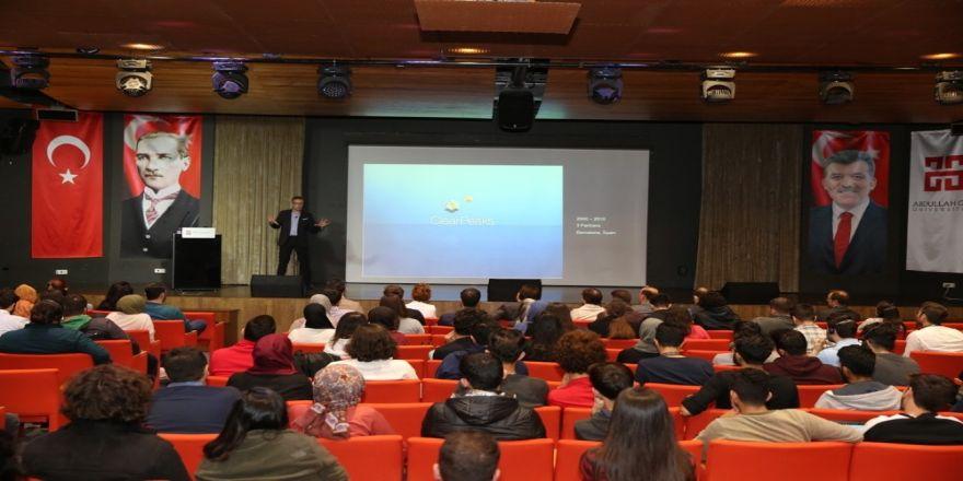 Agü Talks Söyleşileri Teknoloji Şirketi Clariba'nın Kurucu Ve Ceo'su Marc Haberland Konuşmacı Olarak Katıldı