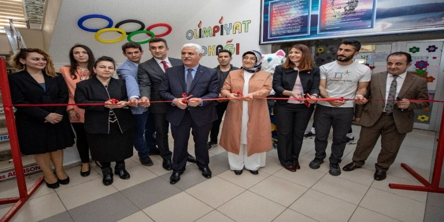 'Olimpiyat Sokağı' açıldı