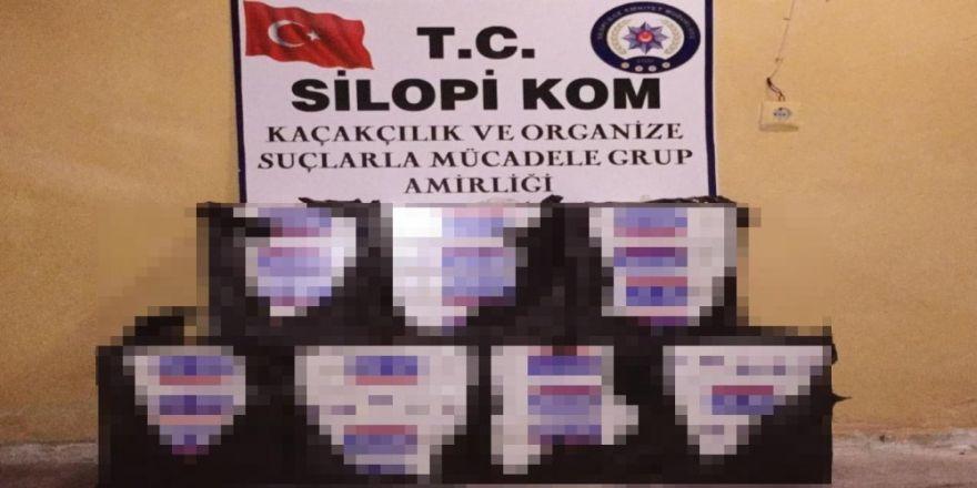 45 bin 740 paket kaçak sigara ele geçirildi