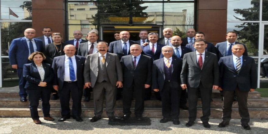 Gso Yönetiminden Gaosb Başkanı Şimşek'e Hayırlı Olsun Ziyareti