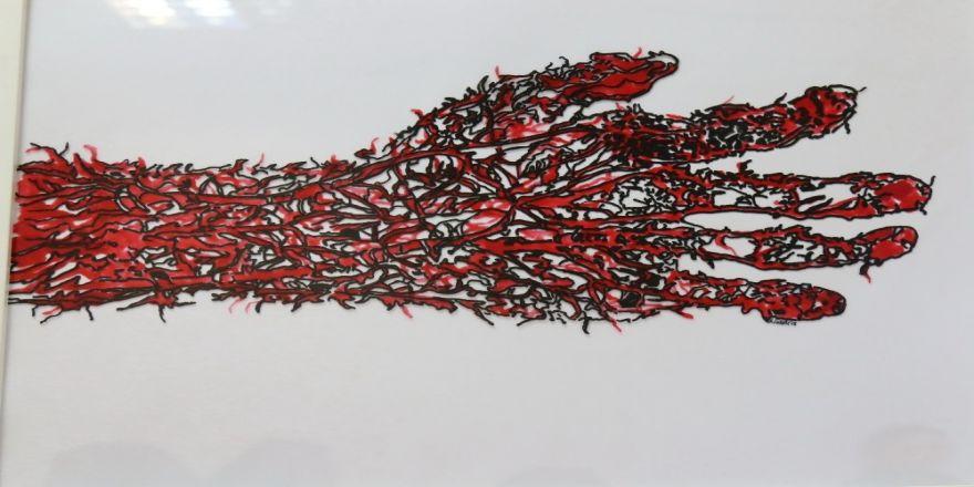 Saü'de 'Cehennemden Kaçanlar' Adlı Resim Sergisi Açıldı