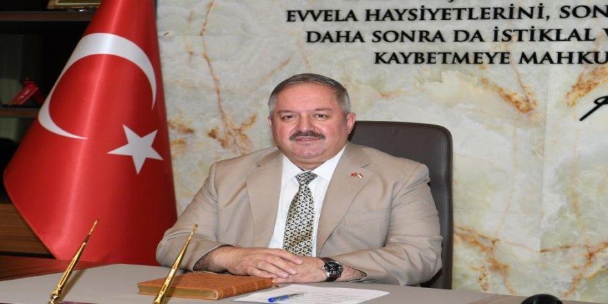 Kayseri Organize Sanayi Bölgesi Yönetim Kurulu Başkanı Tahir Nursaçan'ın Berat Kandili Mesajı