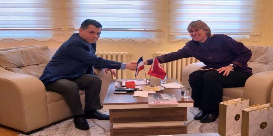 Hollanda Ankara Büyükelçiliği Ticaret Müsteşarından Sankon'a Ziyaret
