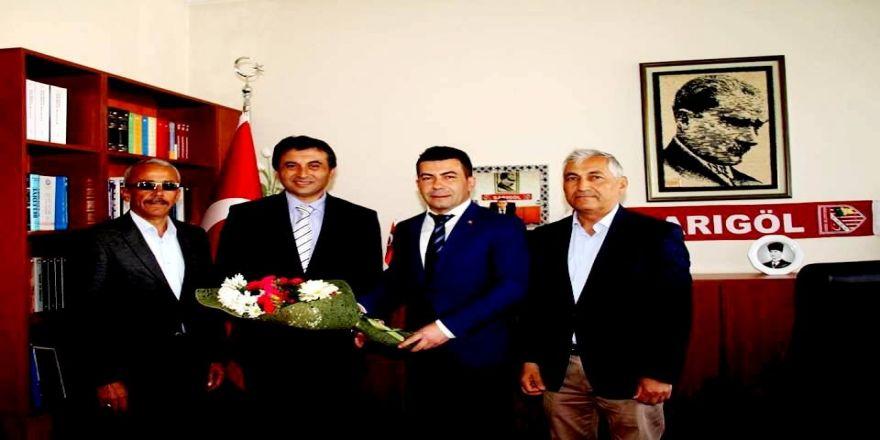 Sarıgöl Belediye Başkanından, Kaymakam Kılınç'a Ziyaret