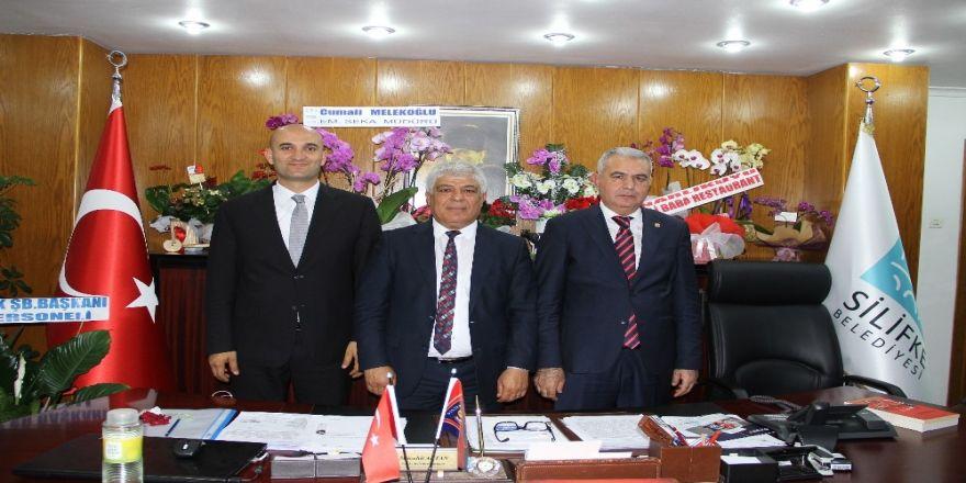 Mhp Mersin Milletvekilleri Başkan Aktan'ı Ziyaret Etti
