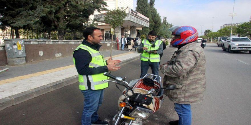 Kilis'te Motosiklet Denetimleri Arttı