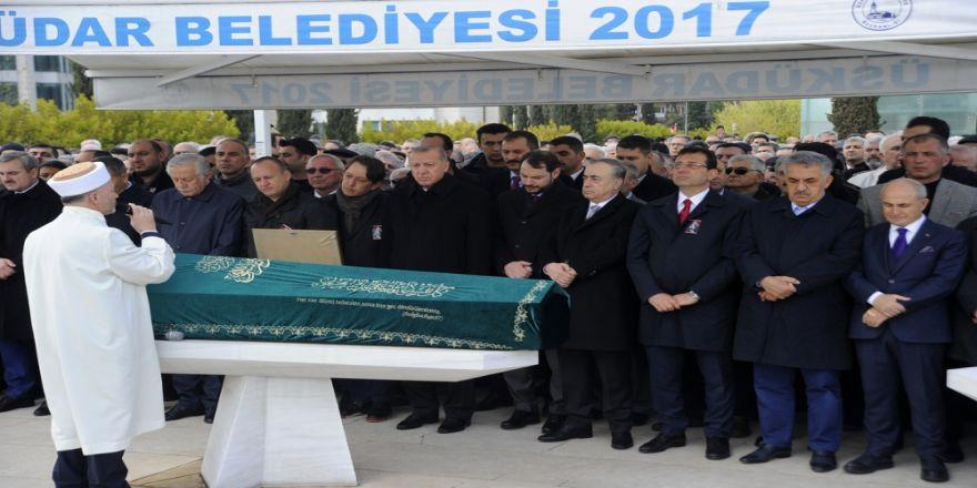 Cumhurbaşkanı Erdoğan Atalay Şahinoğlu'nun Cenazesine Katıldı