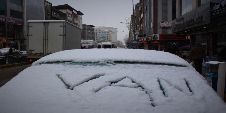 Nisan ayında kar