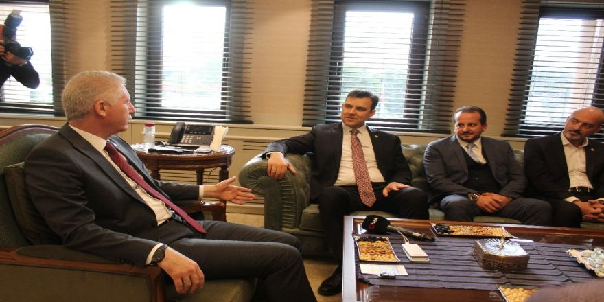 Bursa heyetinden Gaziantep çıkarması