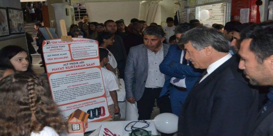 TOBB Yavuz Selim Ortaokulu TÜBİTAK Bilim Fuarı düzenledi