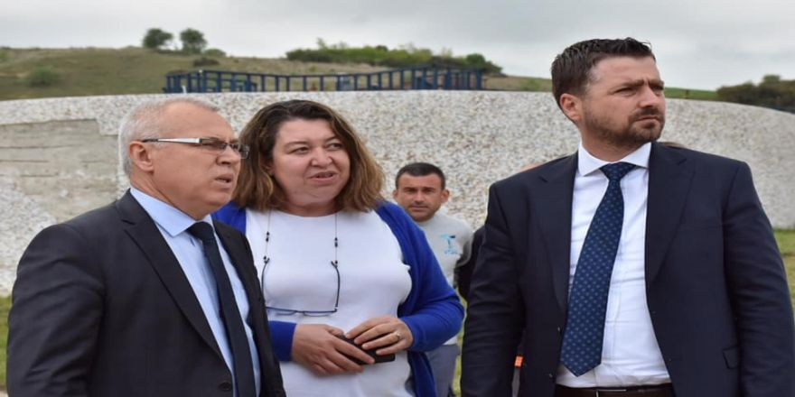 TESKİ Genel Müdürü İçöz, Şarköy'de incelemelerde bulundu