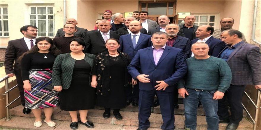 Bilal Erdoğan'dan Kırgızistan Ahıska Türkleri Derneğine ziyaret