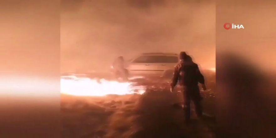 Çin'de başlayan yangın Rusya'ya sıçradı