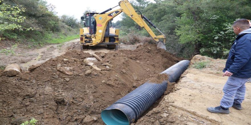 Turgutlu'da Su Baskınlarını Önleyecek Çalışma