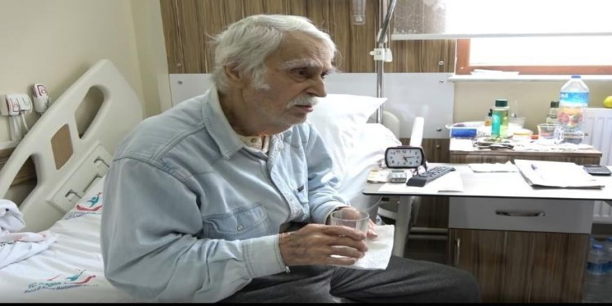 Oğlunun Acısını Unutamayan Eşref Kolçak, 3 Aydır Hastanede Tedavi Görüyor