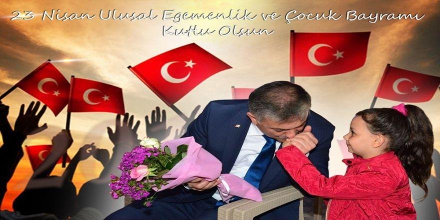 """Vali Yazıcı, """"Çocuklar Bizim Aydınlık Geleceğimiz"""""""