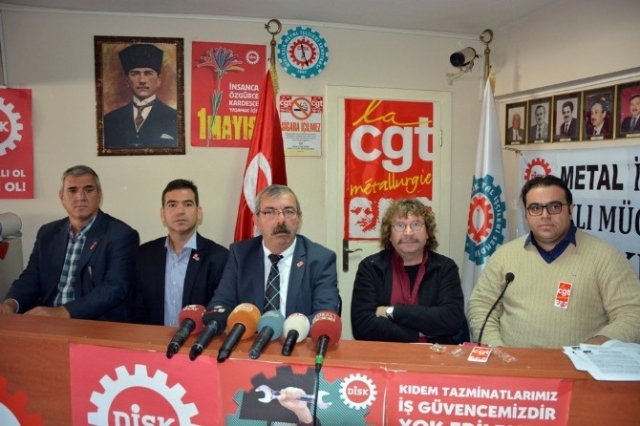 TÜRKİYE'Yİ SARSAN EYLEMLERE KATILAN İŞÇİLERE ŞOK..!