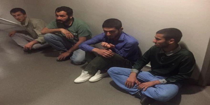 Mit, Sincar'da Ele Geçirilen 4 Pkk/kck Mensubunu Irak'tan Türkiye'ye Getirdi