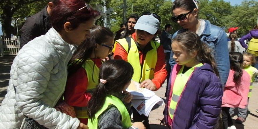 Burhaniye'de Oryantiring Şenliği Düzenlendi