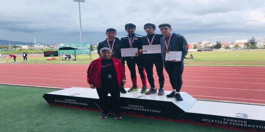 Vanlı Atlet Mersin'den Türkiye Şampiyonluğu İle Döndü