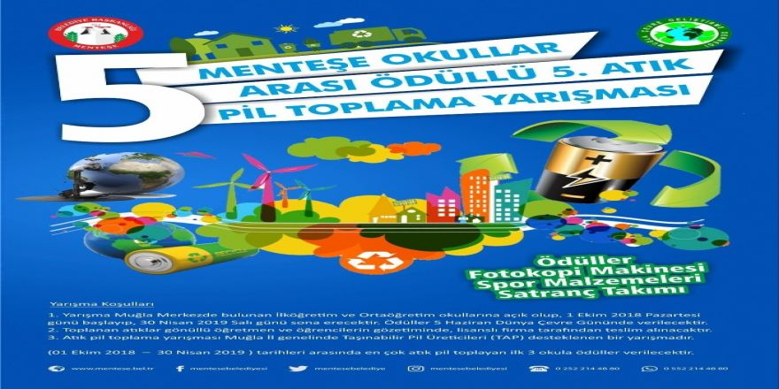 Atık Pil Toplama Yarışması'nda Son Gün 30 Nisan