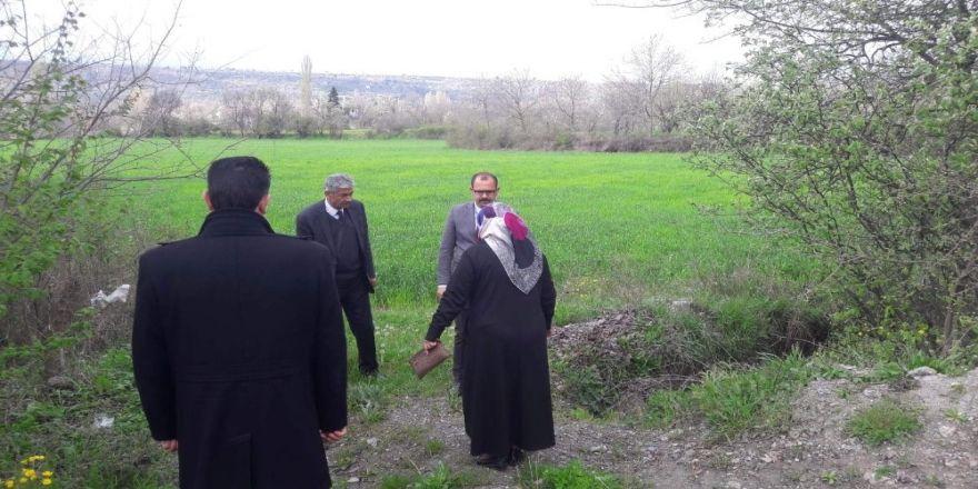 Başkan Kavaklıgil, Tarım Arazilerini İnceledi