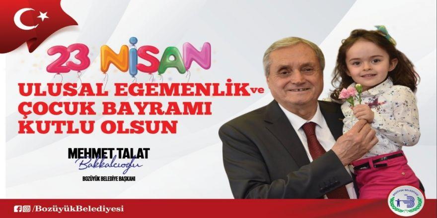 Başkan Bakkalcıoğlu'nun 23 Nisan Ulusal Egemenlik Ve Çocuk Bayramı Mesajı