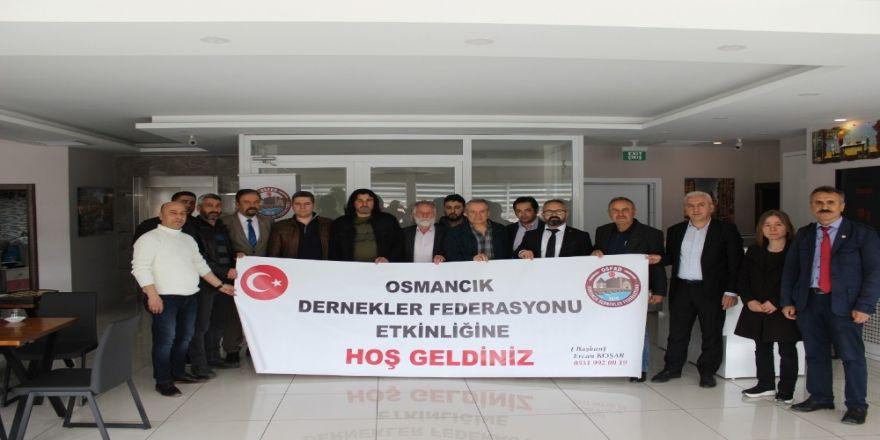 Osmancık Dernekler Federasyonu Kahvaltıda Buluştu