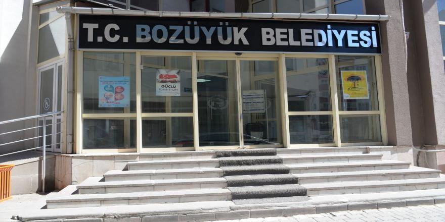 Bozüyük'te Belediye Binasına 'T.c.' Geri Geldi
