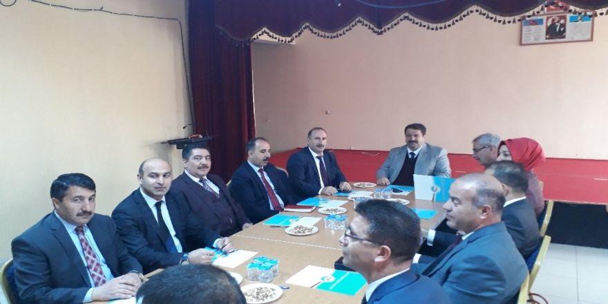 Ağrı'da 'İlçe Milli Eğitim Müdürleri Toplantısı' Yapıldı