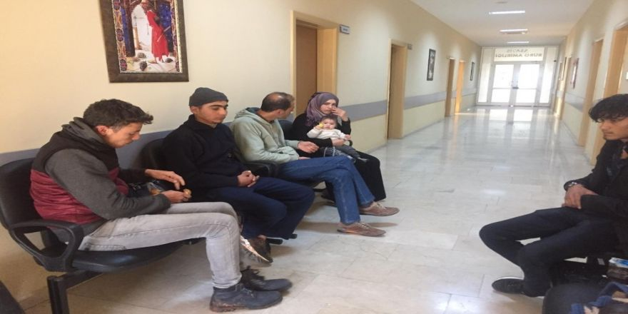 Hatay'da 8 Kaçak Göçmen Yakalandı