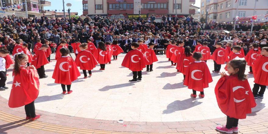 Dünya Mirası Safranbolu'da 23 Nisan coşkusu