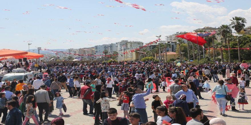 Erdemli Belediyesi'nden 23 Nisan'da Uçurtma Şenliği
