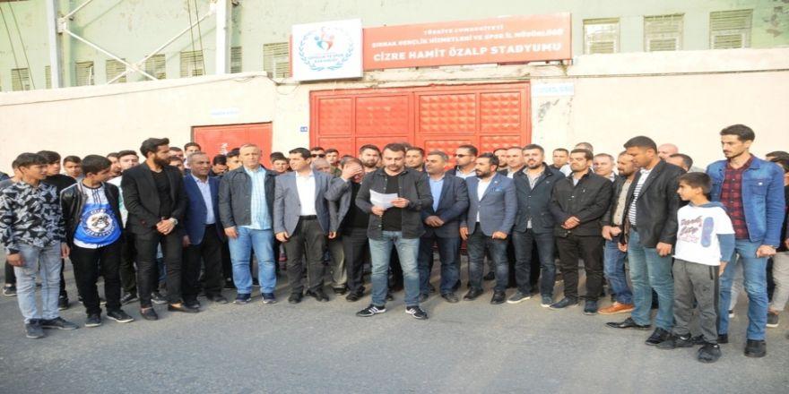 Cizre Serhatspor'dan 'Tarafsız Saha' Talebi