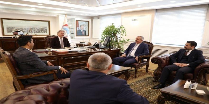 """Mustafa Palancıoğlu, """"İki Vakıf, Bir Sendika Ziyaretlerinde Sosyal Sorumluluk Projeleri Değerlendirildi"""""""