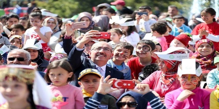 Meram Belediyesinden 23 Nisan Şöleni