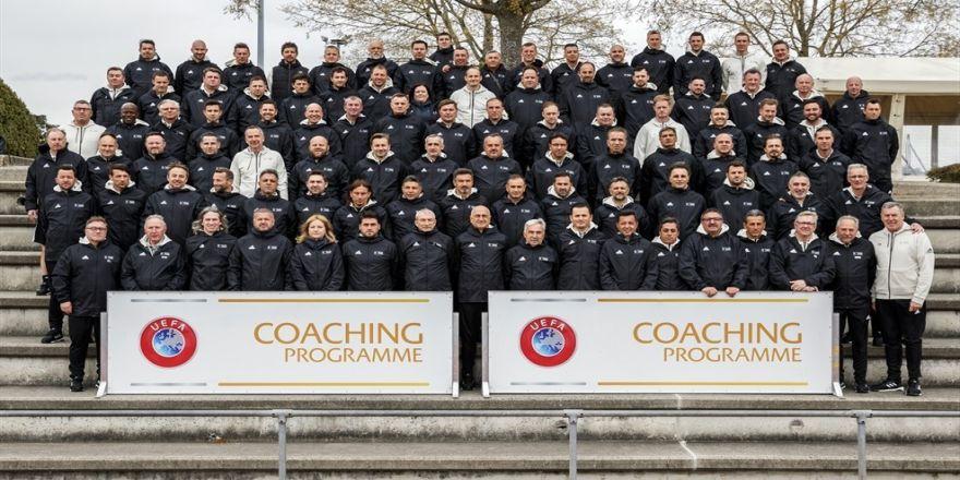 Tff Heyeti, Uefa Pro Lisans Değişim Programı'na Katıldı