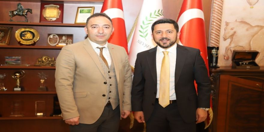 İha Kayseri Bölge Müdürü Atakan, Belediye Başkanı Arı'yı Ziyaret Etti