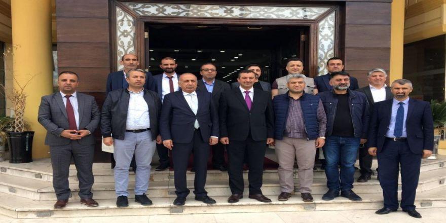 Dtso'dan Süleymaniye Valisi Abubekir'e Ziyaret