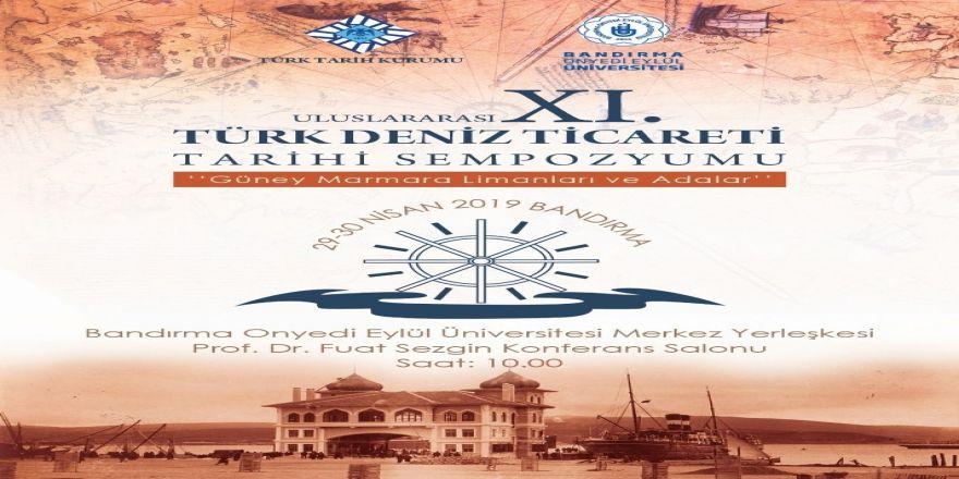 Bandırma'da Xı. Deniz Ticareti Tarihi Sempozyumu Düzenlenecek