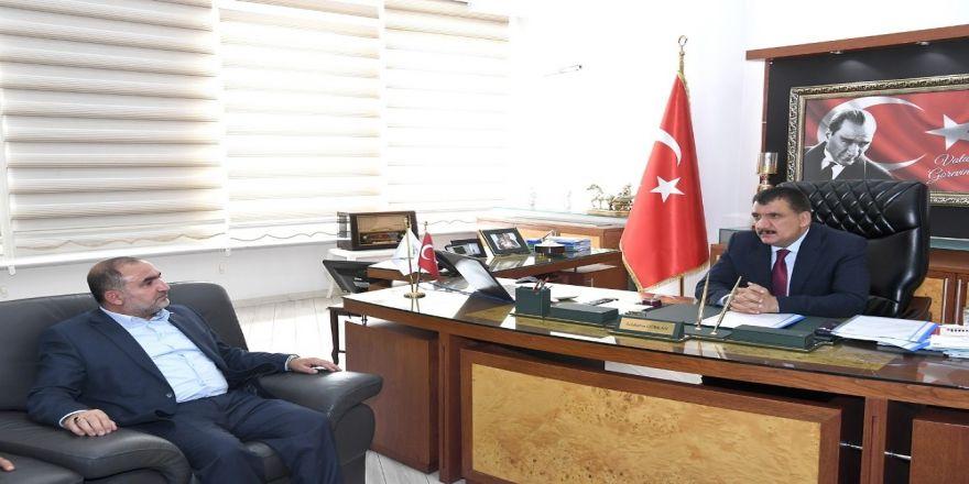 Başkan Gürkan, Müsiad Yönetimini Kabul Etti