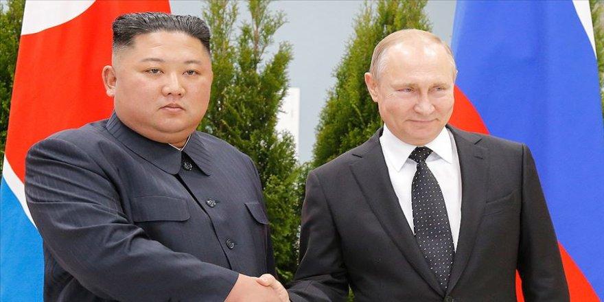 Putin ile Kim bir araya geldi
